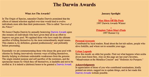 Darwin Award Letter Bomb The Darwin Awards Your Meme