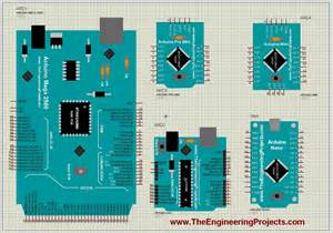 arduino library for proteus the engineering projects
