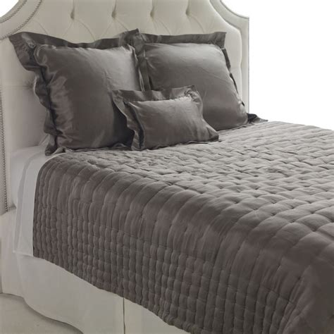 grey silk comforter damaris gray silk comforter just the comforter not the