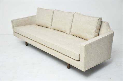 sofa curved back dunbar curved back sofa by edward wormley for sale at 1stdibs