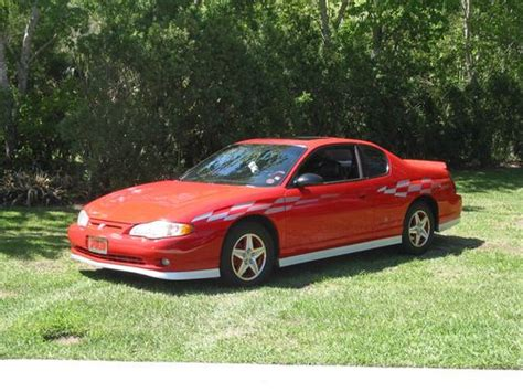 sell new 2000 chevy mont carlo ss orig 70 000 mi blk v6 leath pwr heated seats cold air in sell used 2000 chevy monte carlo ss limited edition pace car in edgewater florida united