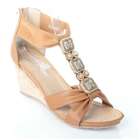 light weight summer zip up wedge summer sandals low light weight heel zip up