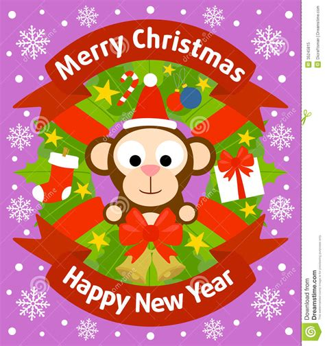 new year monkey free image and new year background with monkey royalty free