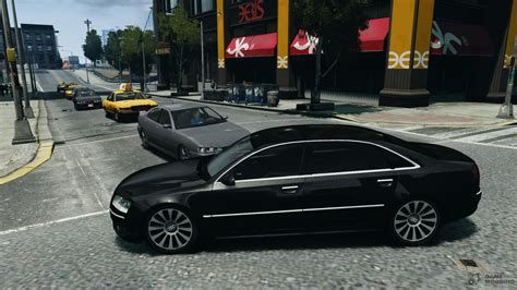 The Transporter Audi by Audi A8 L 6 0 Quattro Transporter 3 For Gta 4