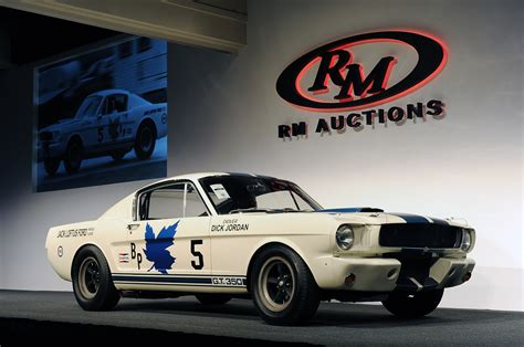 1965 shelby gt350r sells for 990 000 at rm auction