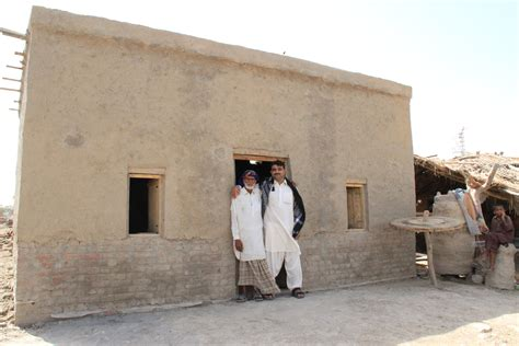 newly built file a newly built flood resistant house in pakistan s