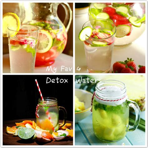 Detox Your In 4 Easy Steps by My Favorite 4 Easy Detox Water Recipes