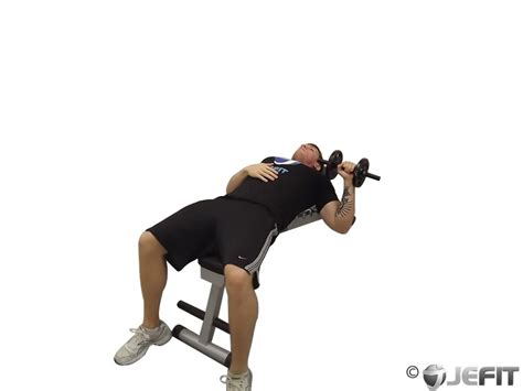 dumbbell one arm bench press exercise database jefit