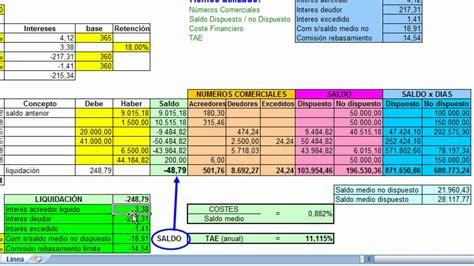 como calcular una liquidacion 2016 liquidaci 243 n de una l 237 nea de cr 233 dito por el m 233 todo