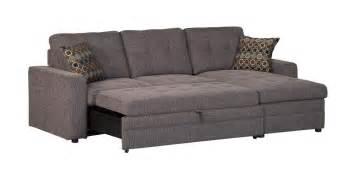 Contemporary Sectional Sleeper Sofa Gus Small Sectional Sofa With Contemporary Style And Tufts Quality Furniture At Affordable