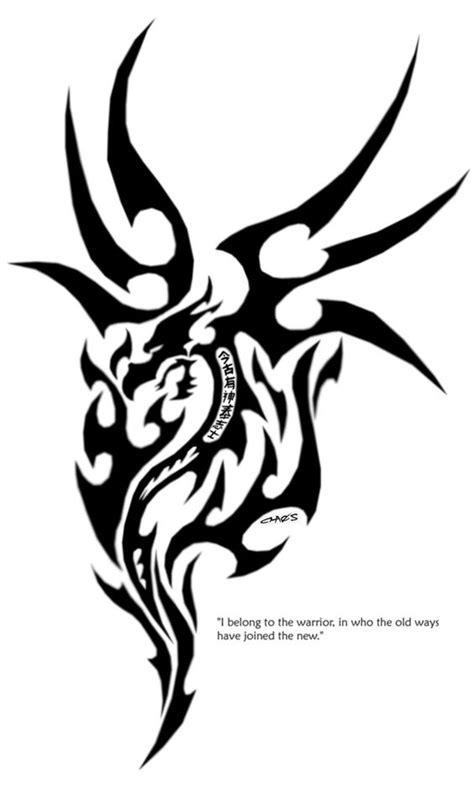 tattoo gallery dragon tribal tribal dragon tattoo design ideas design dragon tattoo