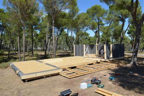 pop up house pop up house la maison qui se construit en 4 jours