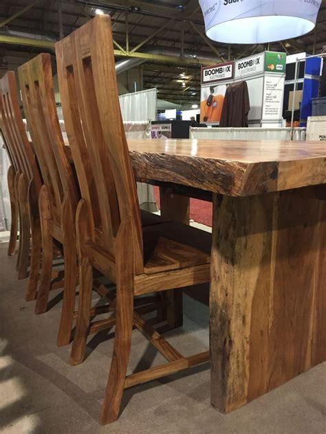 edge table kitchen wood slab table  edge