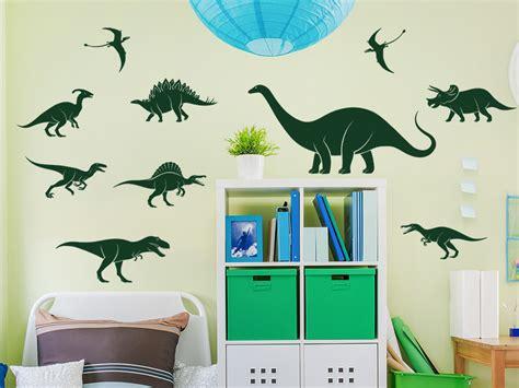 Wandtattoo Kinderzimmer Dino by Wandtattoo Dinosaurier Set Wandtattoo De