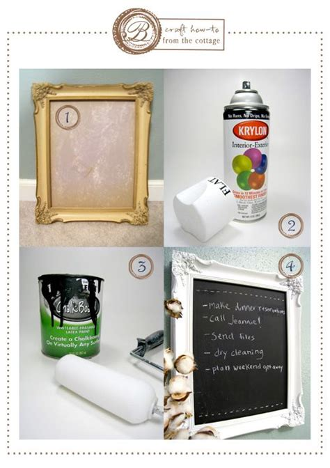 diy chalkboard picture frame diy frame chalkboard for the home