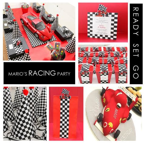 Race Car Birthday Decorations by Pinewood Derby Decorations