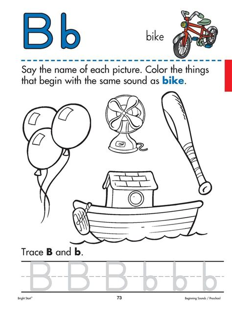 Sound Of Coloring Pages 65 Best Images About Alphabet Letter B On Pinterest by Sound Of Coloring Pages