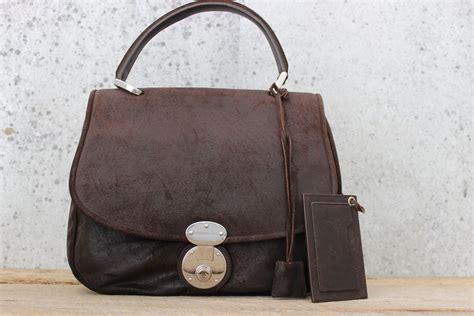 Balenciaga 2 Tone Suede Satchel by Balenciaga Brown Suede Saddle Bag 2007 Never Carried