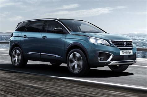 peugeot new cars same name very different face new peugeot 5008 unveiled