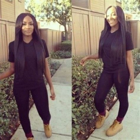 Straight Hair With Outfits | baddie pinterest fall outfits pictures to pin on pinterest