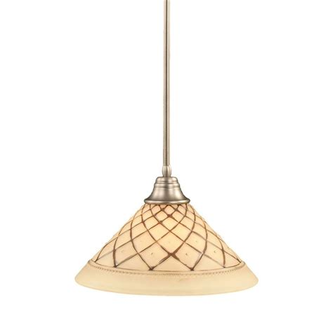 Filament Design Concord 1 Light Brushed Nickel Pendant Cli Filament Pendant Lighting
