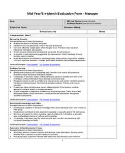 employee review template employee review templates 10 free pdf documents