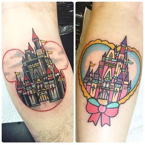 disney couple tattoos matching disney tattoos popsugar australia