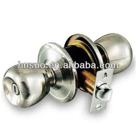 One Way Door Knob by Captn 5731 Knob Stainless Steel Toilet One Way Door Locks