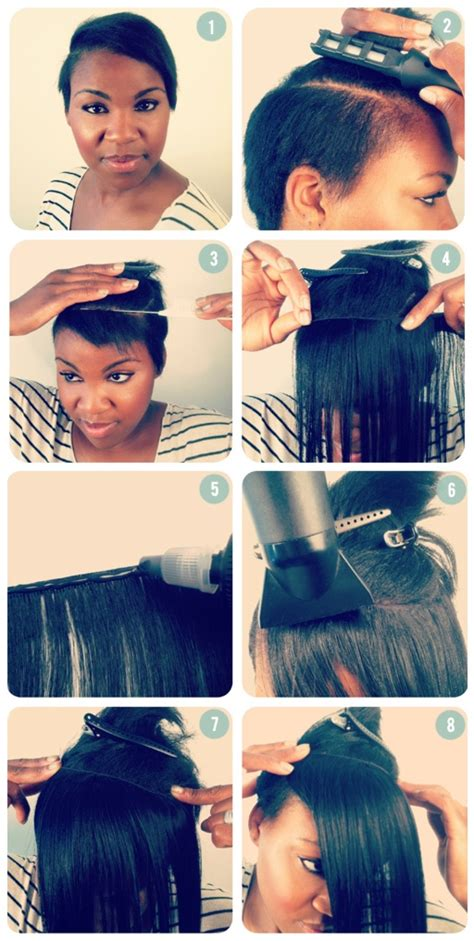 different hairstyles for glue in tracks 1000 ideas about glue in hair extensions on pinterest
