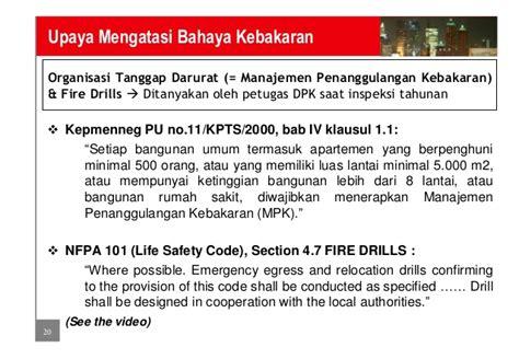 Lu Emergency Gedung sistem pemadam api dan pengindera api