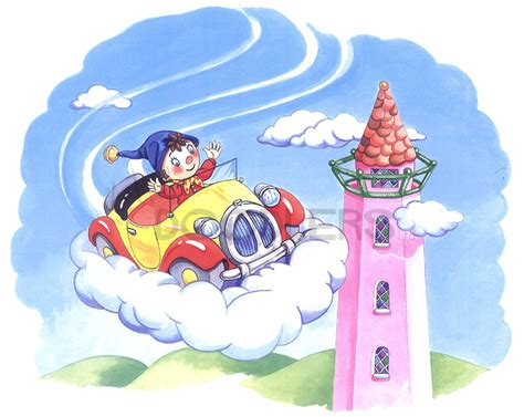 up in the clouds by noddy licensed character artful doodlers