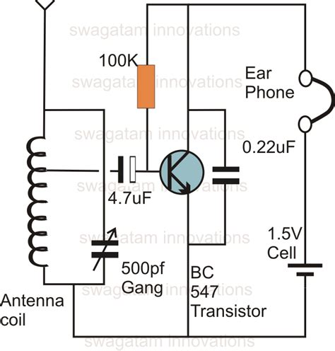 fm transmitter circuit using transistor am fm one transistor am transmitter reciver