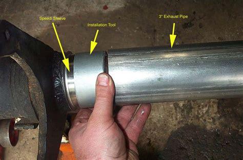 boat trailer axle seal sleeve billavista speedi sleeve install tech article by