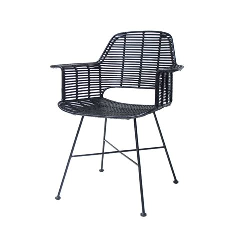 black chair rattan seat products details furniture rattan tub chair black