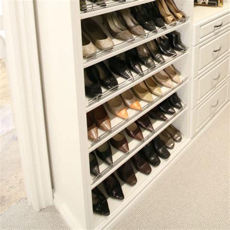 toronto shoe closets shoe fences displays