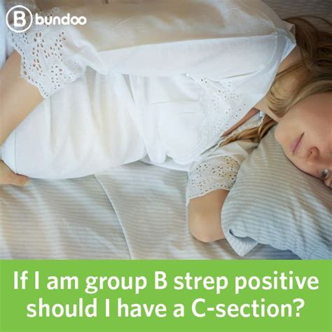 group b strep and c section gbs positive