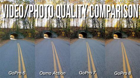 gopro   gopro  gopro  dji osmo action sample imagevideo quality comparison test youtube