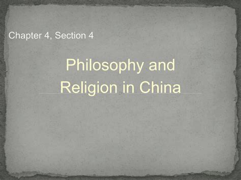 world history chapter 20 section 1 chapter 4 section 4 pptx