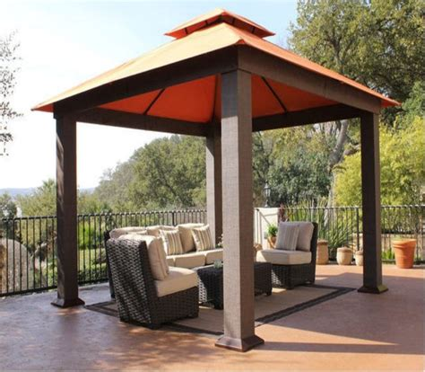 Covered Gazebos For Patios Best 25 Patio Gazebo Ideas On Pinterest Gazebo Roof Diy Projects Gazebo And Carport Patio