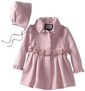 amazon com rothschild baby girls infant dress coat with
