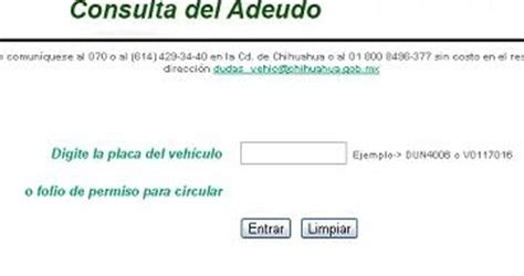 consulta tenencia 2015 quintana roo chihuahua adeudo y pagos de tenencia e infracciones 2014
