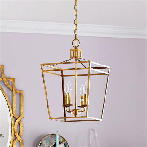 Admiral gold pendant lantern