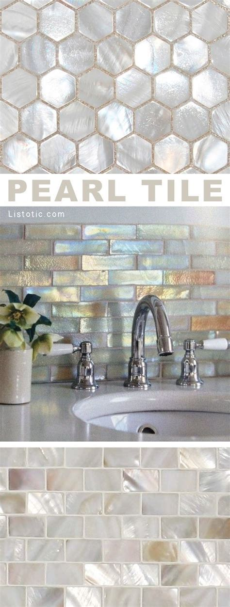 pearl tiles bathroom best 25 tile back splashes ideas on pinterest bathroom
