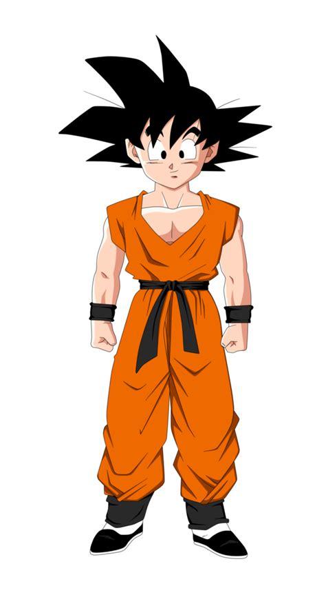 imagenes de goku adolescente goten dbrx dragon ball fanon wiki