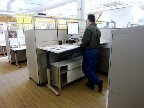 why are standing desks good the standing desk why hasn t it caught on treehugger
