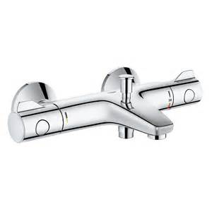Grohe Bath Shower Mixer Thermostatic Grohe Grohtherm 800 Thermostatic Bath Mixer Wall Mounted