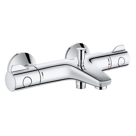 Thermostatic Bath Shower Mixer Deck Mounted grohe grohtherm 800 thermostat wannenbatterie f 252 r