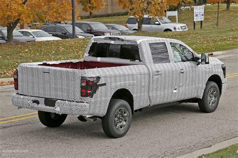 cummins nissan titan 2016 nissan titan spied testing isv cummins turbo diesel