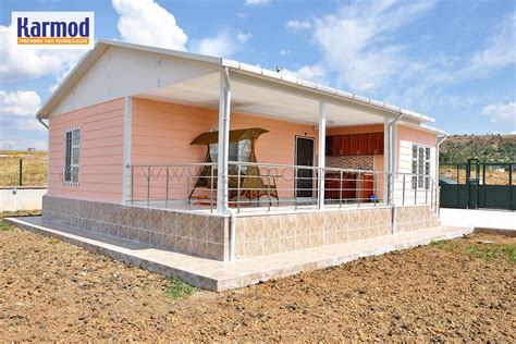 prefabricated houses zambia mass affordable social housing karmod
