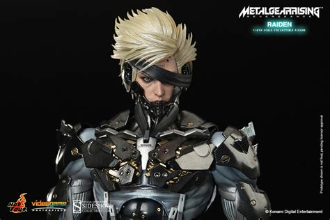 Toys Ht Metal Gear Rising Raiden Special Edition metal gear raiden sixth scale figure by toys